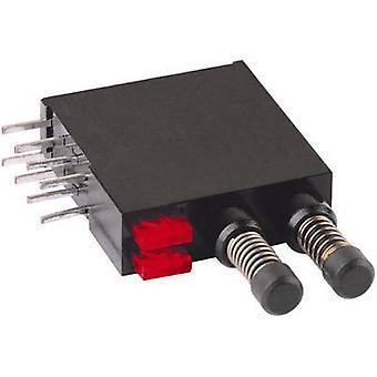 Mentor 1871.2231 Pushbutton 60 V DC/AC 0,5 A 2 x 1 momentânea fora (sobre) computador (es)