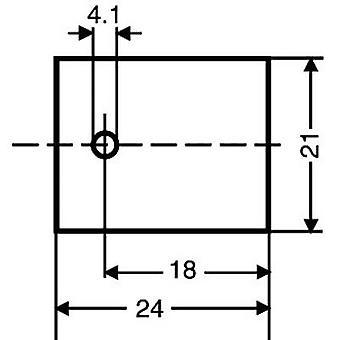 Fischer Elektronik GS 218 Mica-levyt (L x p) 24 mm x 21 mm soveltuvat 218 1-PC: lle