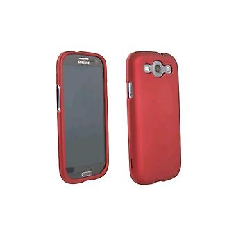 WireX Rubberized Protective Shield for Samsung Galaxy S III (Red)