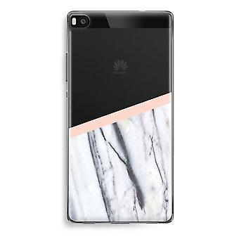 Huawei Ascend P8 gennemsigtig sag (Soft) - et strejf af fersken