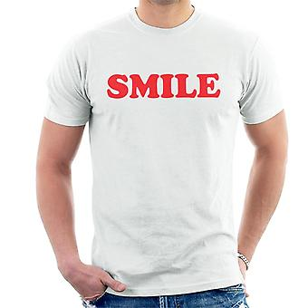 Lächeln Sie wie von Victoria Beckham Herren T-Shirt getragen