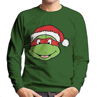 Teenage Mutant Ninja Turtles Raphael Christmas Hut Herren Sweatshirt