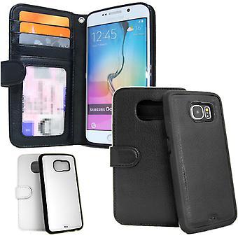 Plånboksfodral Galaxy S6 Edge PLUS Med Avtagbart Skal