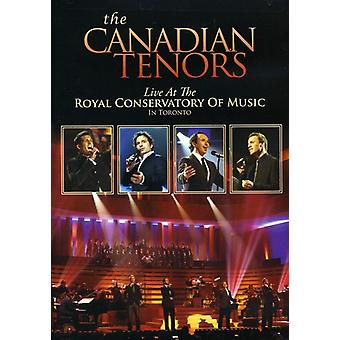 Canadian Tenors - Live at the Royal Conservatory of Music in Toronto [DVD] USA import