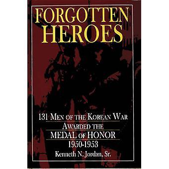 Vergessene Helden - 131 Männer des Korea-Krieges Medaille die von Hono