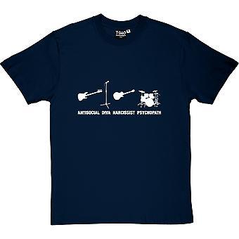 Banda camiseta los estereotipos hombres