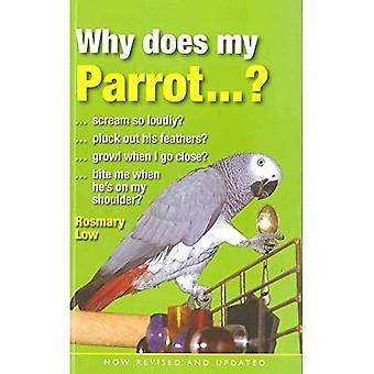 Waarom wordt mijn Parrot...?