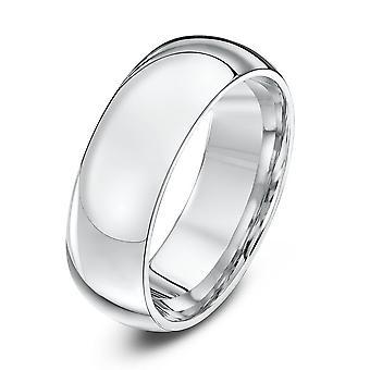 Anillos de boda estrella paladio 950 pesada corte 7mm anillo de bodas