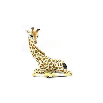 22Cm Sitting Giraffe Ornament Home Decoration