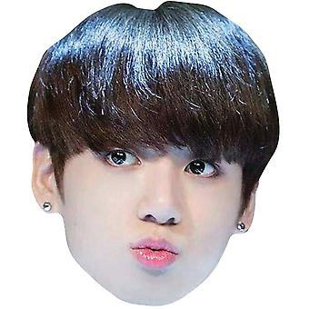 Jungkook from BTS Bangtan Boys 2D Card Party Fancy Dress Mask