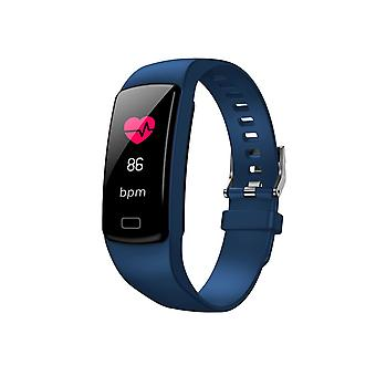 Y9 activity bracelet with 0.96 inch color screen-Blue