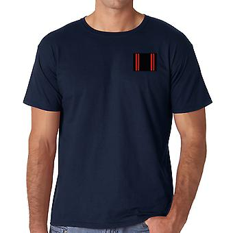 Treinamento físico do exército RAPTC - bordado logotipo TRF - exército britânico oficial Ringspun T-Shirt