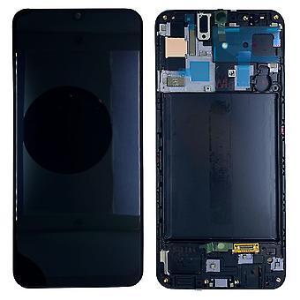 Samsung display LCD unidade completa para Galaxy A50 A505F GH82-19204A preto