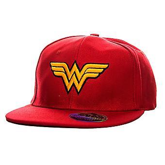 Mulher maravilha asas logotipo SnapBack Cap