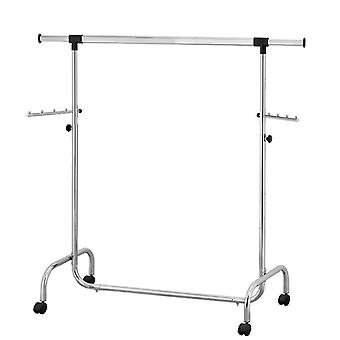 Tatkraft, Falcon - Adjustable clothes stand with wheels