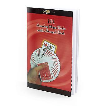 Bristol novidade 101 Svengali deck truques mágicos livro