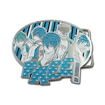 Belt Buckle - Free! - New Boys Metal Toys Anime Licensed ge15520