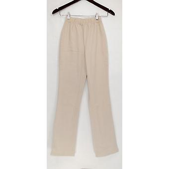 Denim & co. leggings stretch Boot cut beige A42907