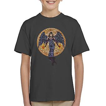 Alchemy Black Angel Kid's T-Shirt