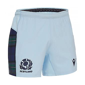 2019-2020 Skotland Macron suppleant rugby shorts (himmel)