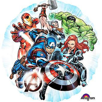 Anagram Avengers 18 Inch Circle Foil Balloon