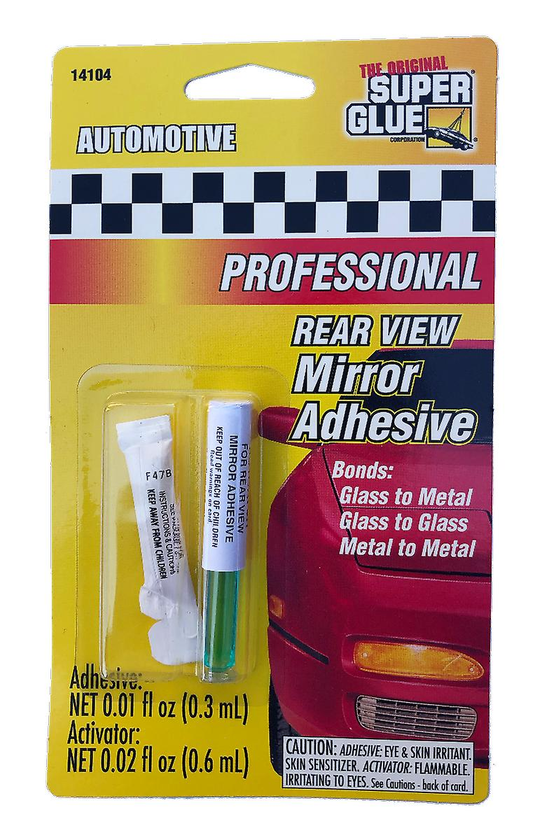 Super Glue 141041-12 Automotive Rear View Mirror Adhesive