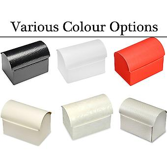 10 Chest Shape Card Gift Boxes for Wedding Party Favours