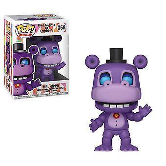 Five Nights at Freddy's Pizza Sim Mr Hippo Pop! Vinyl