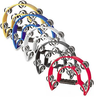 Stagg TAB-1 Cutaway Tambourine - Available in Yellow, Blue, White, Black or Red