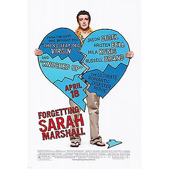 Forgetting Sarah Marshall Original Movie Poster - Double Sided Regular