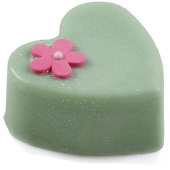 Bomb Cosmetics Massage Heart Bar - Butter Me Baby