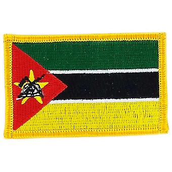 التصحيح Ecusson برود درابو موزامبيق العلم Thermocollant شارة بلاسون