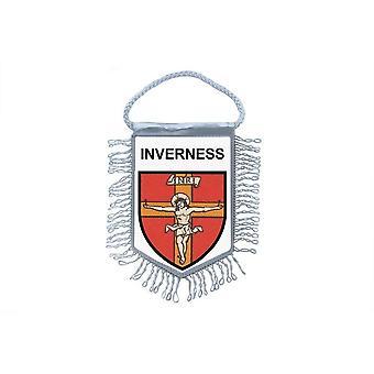 Fanion Mini Drapeau Pays Voiture Decoration Souvenir Blason  Inverness
