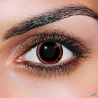 Red Manga Contact Lenses (Pair)