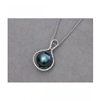 Luna-Pearls Tahitiperlen Pendant 9 mm AH77