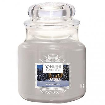 Yankee Candle Classic Pequena Jar Candlelit Cabin 104g