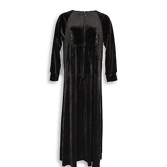 Joan Rivers Classics Collection Women's Petite Gowns Black a344541