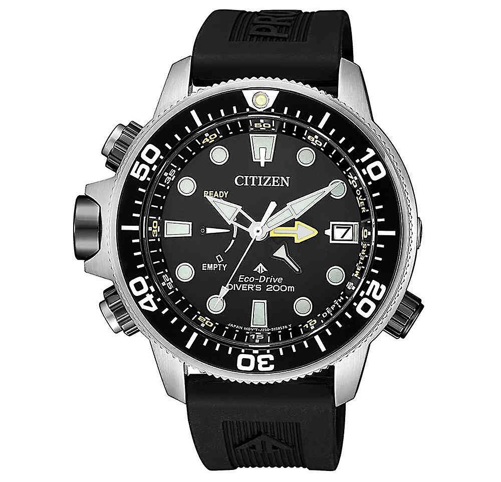 Citizen Promaster Bn2036-14th Aqualand Eco-Drive men's Watch 46.5 Mm