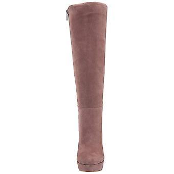 Jessica Simpson mulheres Rollin tecido amêndoa Toe joelho alta moda botas
