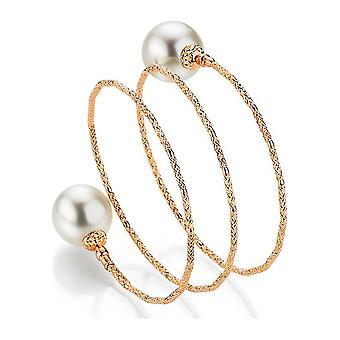 Yana Nesper - Bracelet - Ladies - WRAPme South Sea Beaded Bracelet SD90, in rose gold