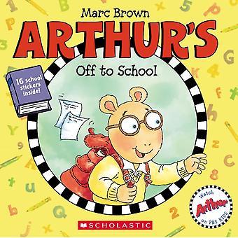 Arthurs iväg till skolan av Marc Brown