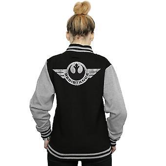 Star Wars Women's Resistance Wings Varsity Jacket