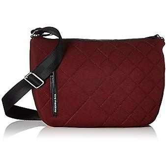 Mandarina Duck Hunter Jersey Strap - Donna Rot Shoulder Bags (Cordovan) 9x26.5x33cm (B x H T)