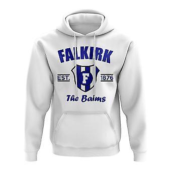 Falkirk etablerede fodbold hoody (hvid)