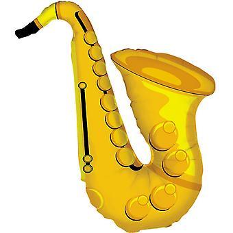 Oaktree Betallic 37 Inch Saxophone Balloon