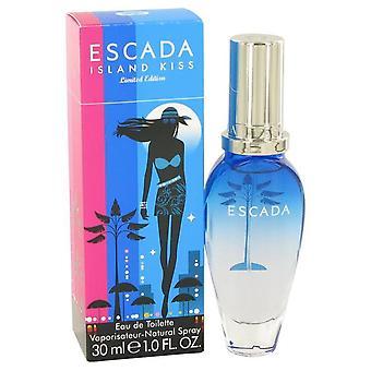 Island Kiss Eau De Toilette Spray By Escada   403500 30 ml
