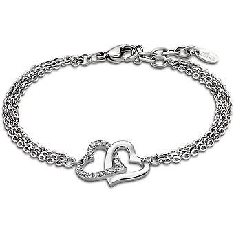 Bracelet Lotus Style jewelry WOMAN's HEART LS1912-2-1 - Bracelet WOMAN's HEART steel woman