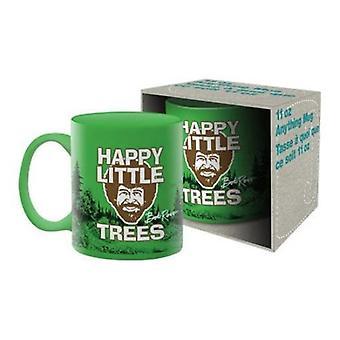 Bob ross - trees ceramic mug