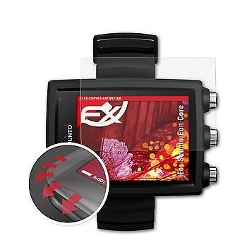 atFoliX 3x Protišokový chránič obrazovky kompatibilný so systémom Suunto EON Core Matt & flexibilné