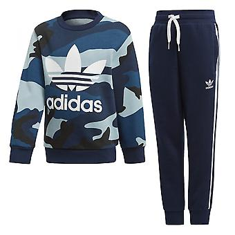 Set di tuta Adidas Originals Camo Crew Set DW3852